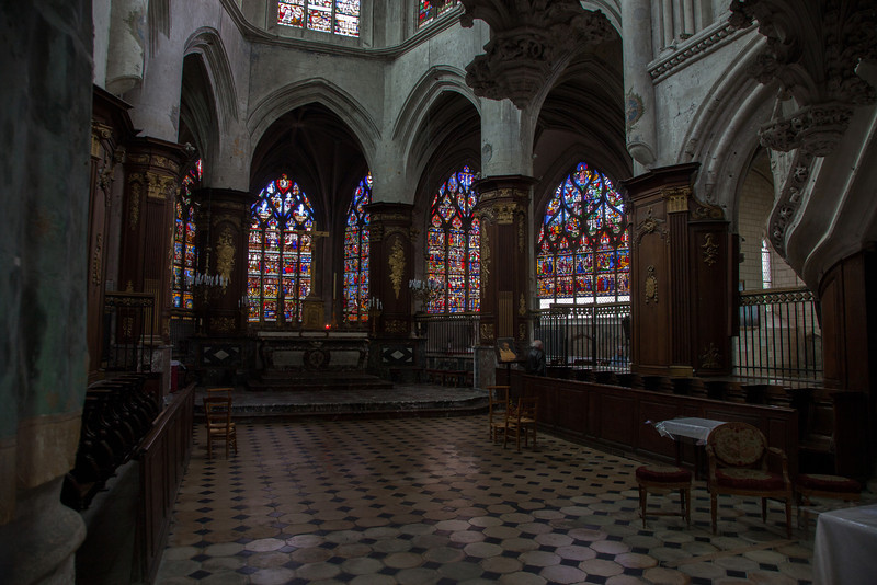Troyes - Sainte-Madeleine Church - Choir & Ambulatory Windows