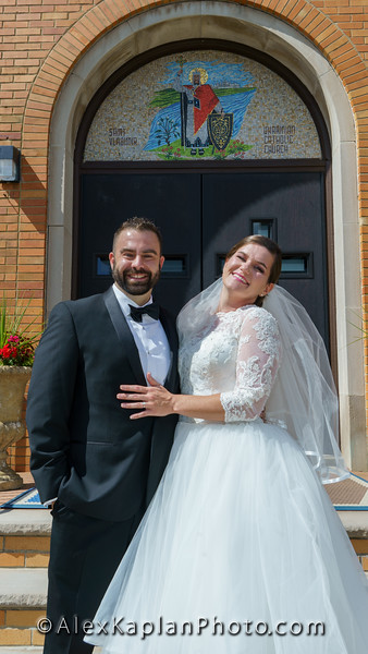 Wedding at St. Vladimir Church in Elizabeth NJ by Alex Kaplan Photo Video Photobooth