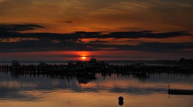 Choptank River Sunrise-VII