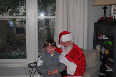 Edgewood Santa Party 2014