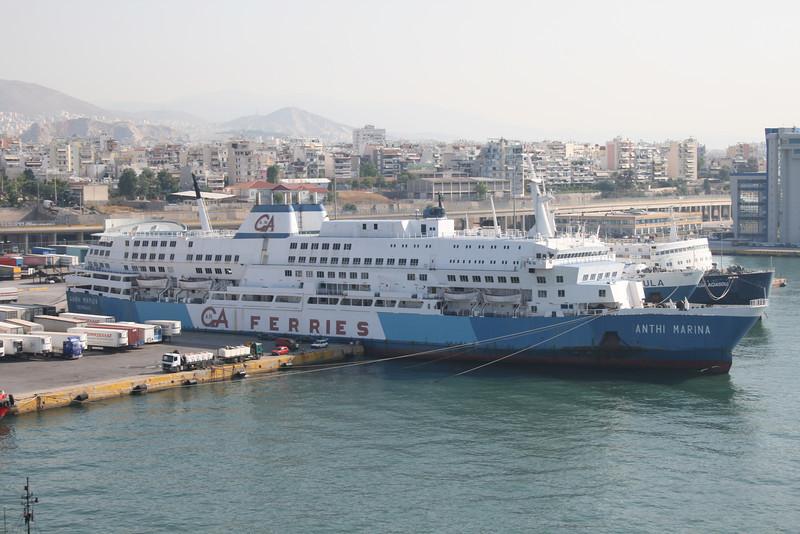 2011 - F/B ANTHI MARINA laid up in Piraeus.