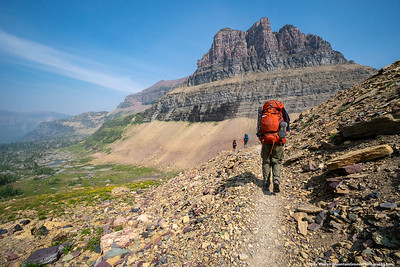 2018 -  Glacier NP Backpack