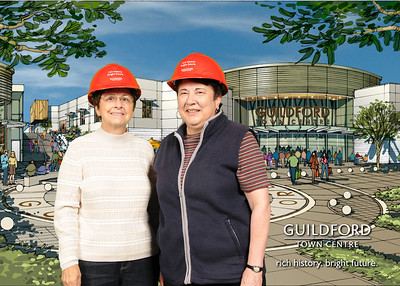 Guildford Town Centre Ground Breaking - Sept 22