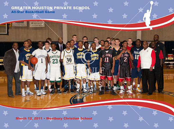 2011-03-12 Basketball Boys Houston Area Private Schools All-Star Game