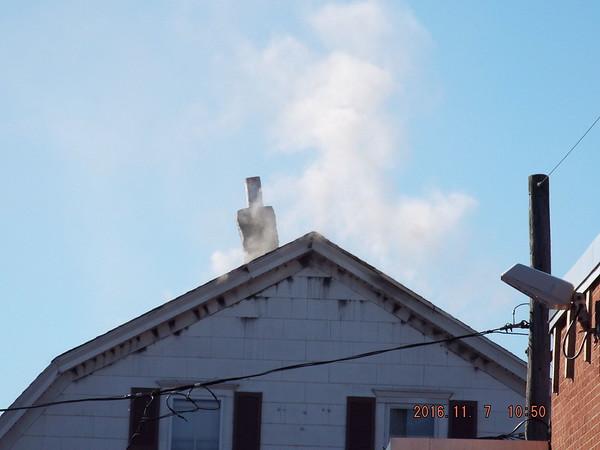 HFD attic fire 30 W. Maple St. 11-7-16