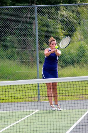West Bladen girls tennis  2011