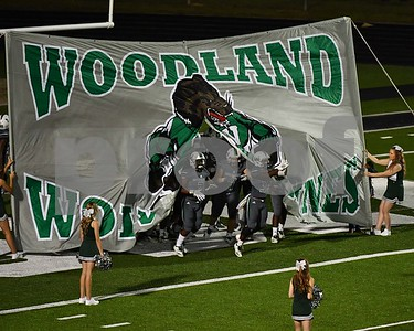 Woodland vs Bamberg Football 2018