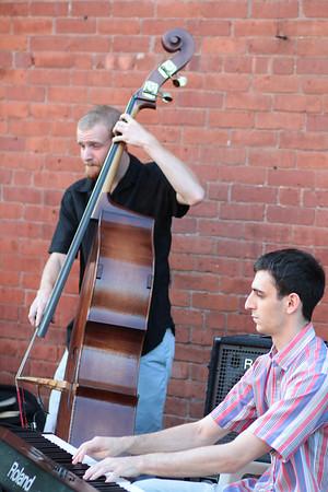 Claire Randall Quartet - Summer Concert Series (Community Health Center) 7/19/12