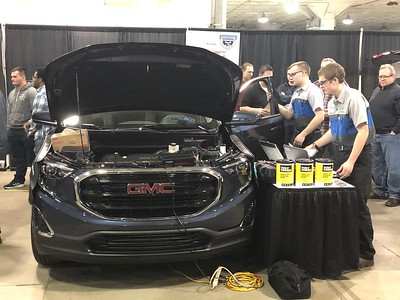 Career Center team places second at auto show competition