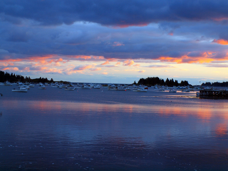 Sunset in Vinalhaven