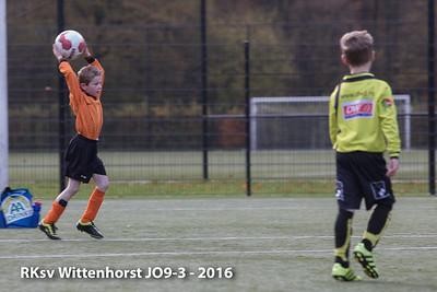 RKsv Wittenhorst JO9-3 - 2016