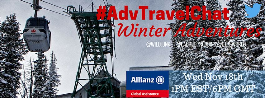 #advtravelchat winter adventures