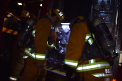 5136 S Victoria Ave garage fire 2-10-17