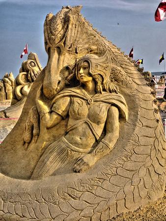World Championship Sand Sculpting