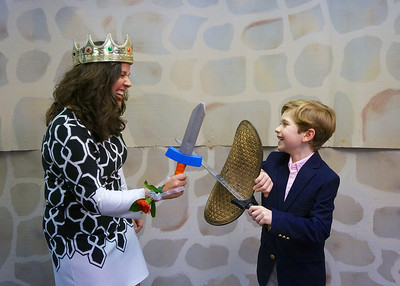 A Knight with Mom - Photo Booth and Fun