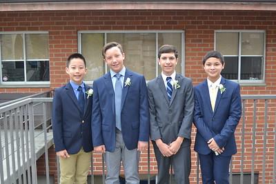 Saint Mark's 6th-Graders Graduate
