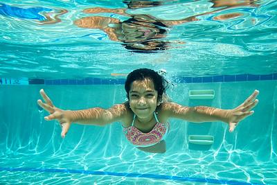 Diya at West Lake Pool