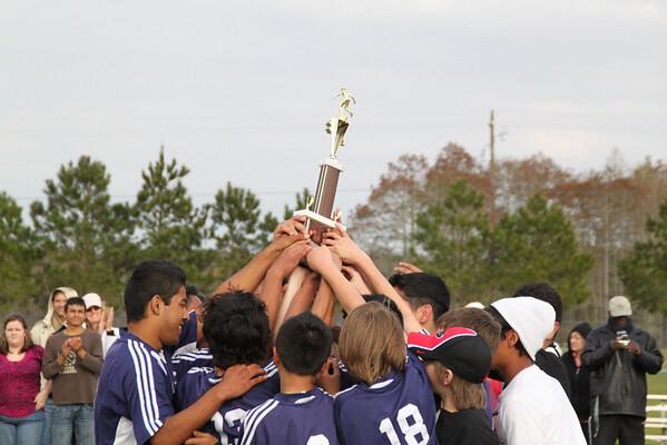ESMS Boys Soccer Region 2010