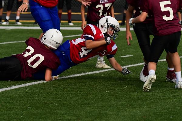 7th grade MS Football vs Waverly