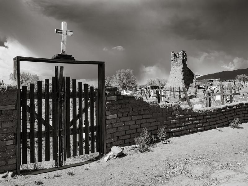 St. Geronimo Cemetery at Taos Pueblo