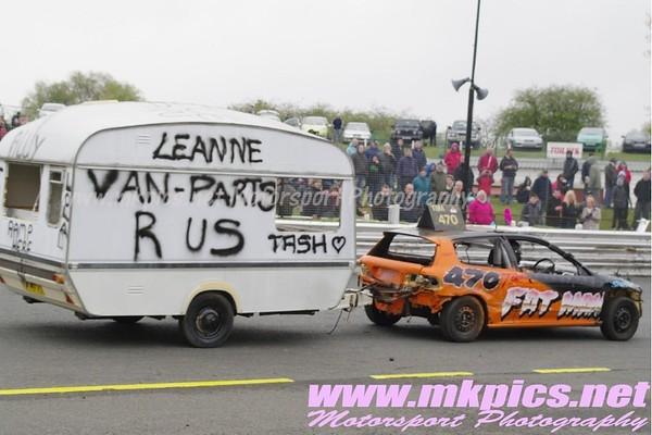 Caravan Racing, Hednesford Hills Raceway, 7 May 2012