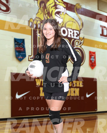 JW Moore MS B-Team Volleyball 2020-2021
