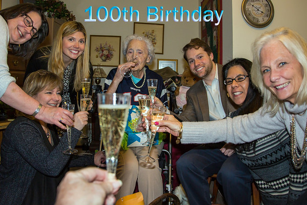 Jeanne Johnson 100th Birthday