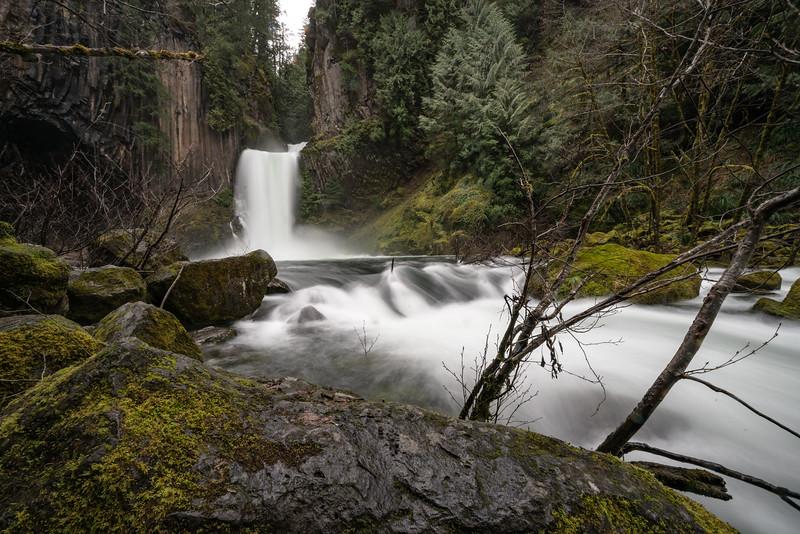 Tokettee Falls, oregon