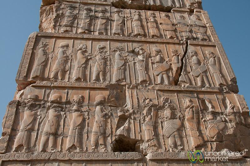 Carved Gates at Persepolis, Iran