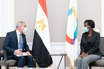 SEM Alaa YOUSSEF - Ambassadeur d'Egypte - Paris