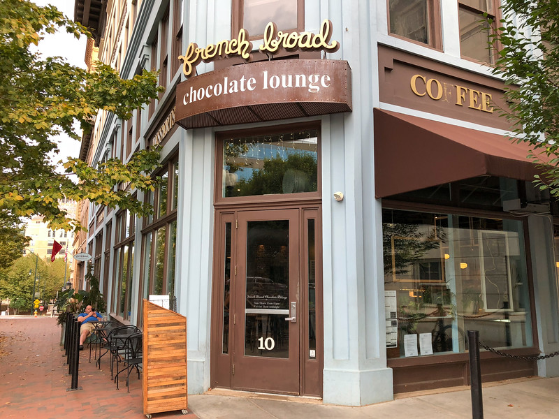 French Broad Chocolate Lounge in Asheville