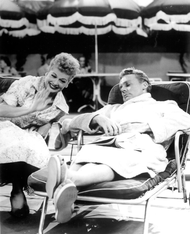 ". ""I Love Lucy\""  Lucille Ball and Van Johnson.   Los Angeles Daily News file photo"