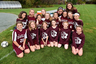 Meet The AMHS Girls Middle School Soccer Team photos by Gary Baker
