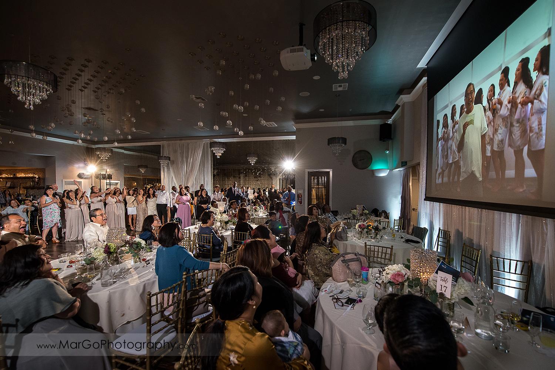 same day wedding slideshow at Sunol's Casa Bella