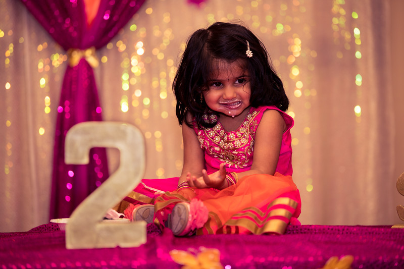 Sritha 2nd Bday