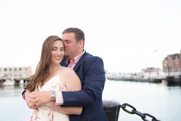 Samantha & Jon's Boston Engagement