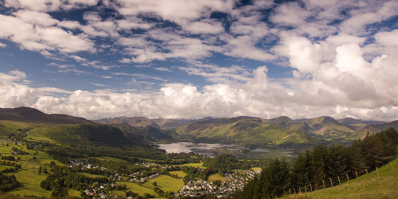Derwent Water and Borrowdale