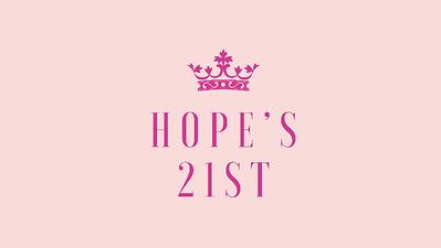 19.06 Princess Hope's 21st