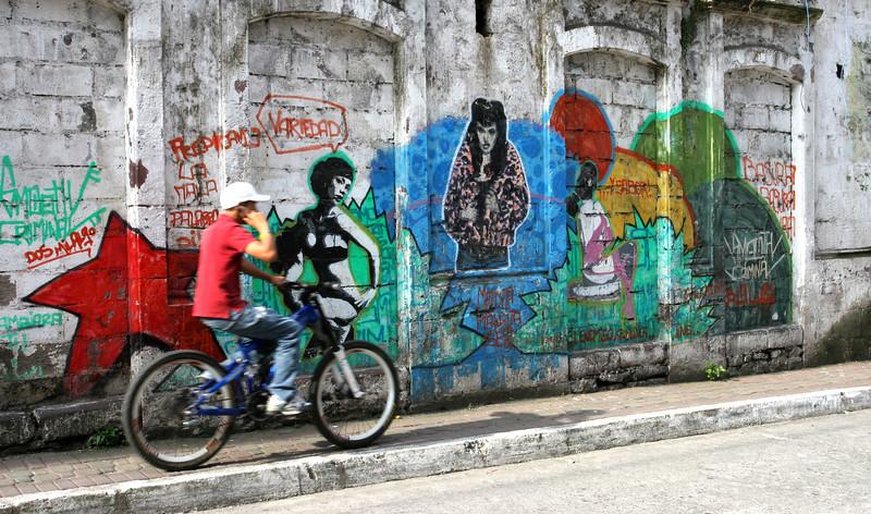Graffiti Biker