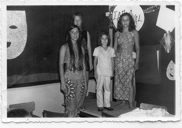 Andrada 1969? Zelinha Adalberto, Bela Rios, Nela Marques, e João Clemente