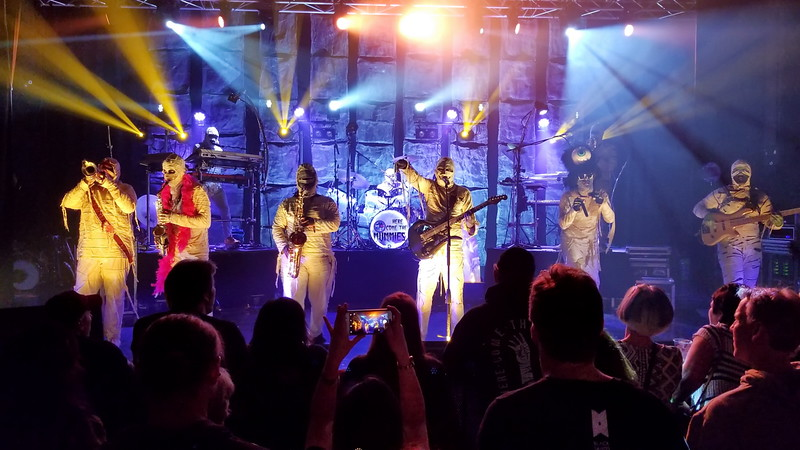 Here Come the Mummies at the Rapids Theater - April 13, 2018