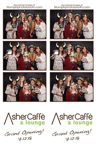 7/12/18 - Asher Caffe' & Lounge