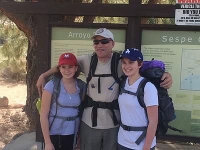 Sespe Wilderness Backpack Trip 2015