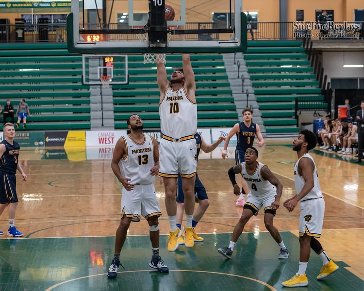 Basketball - UofM Bisons vs UofV Vikes