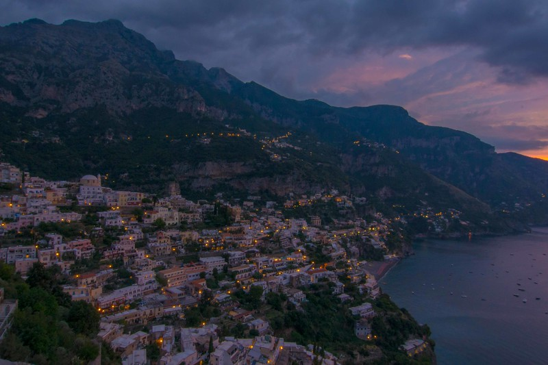Positano, Almalfi Coast, Sicily