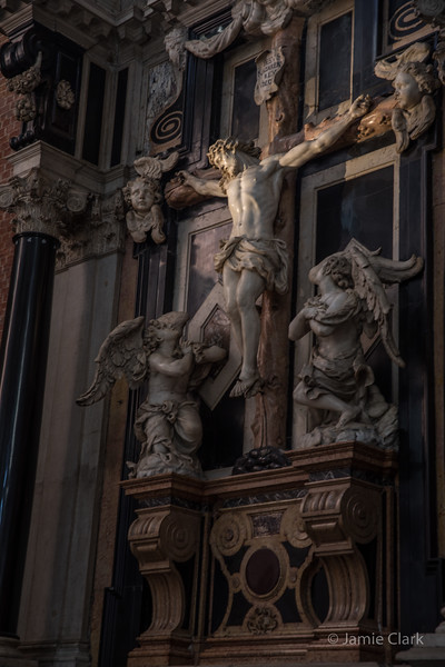 Basilica dei Frari, Venice, Italy -  October 2017