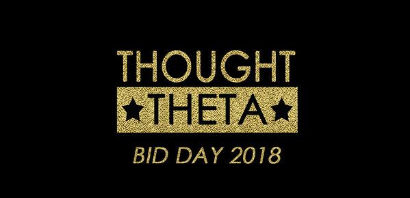 Theta Bid Day