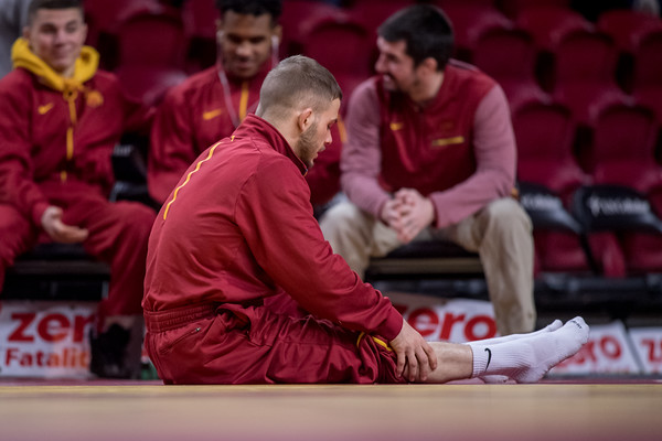 ISU Wrestling vs South Dakota State 02/01/19