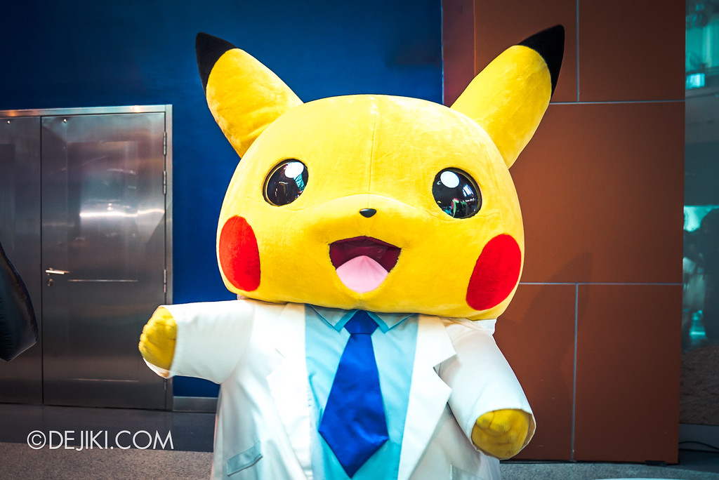 Pokémon Research Exhibition - Professor Pikachu hero