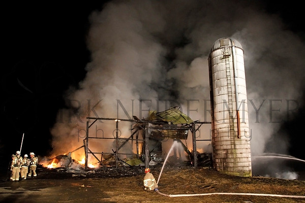 03.19.15 Barn Fire Chester County Station 8